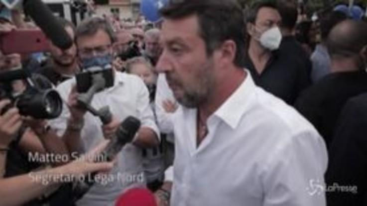 """""""Salvini appeso"""", il leader perdona il candidato Pd: """"Acqua passata"""""""