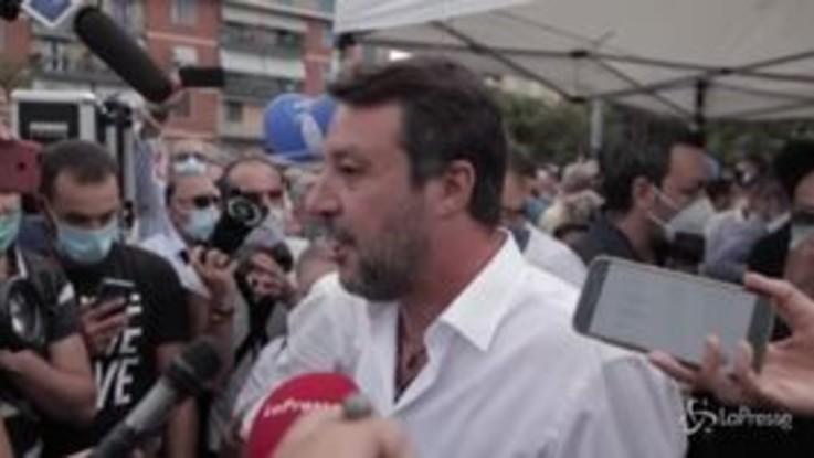 """Referendum, Salvini: """"Voto sì, non faccio come Renzi che ha cambiato idea"""""""