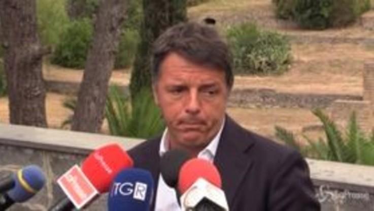 """Regionali, Renzi: """"Se fossi campano voterei De Luca"""""""