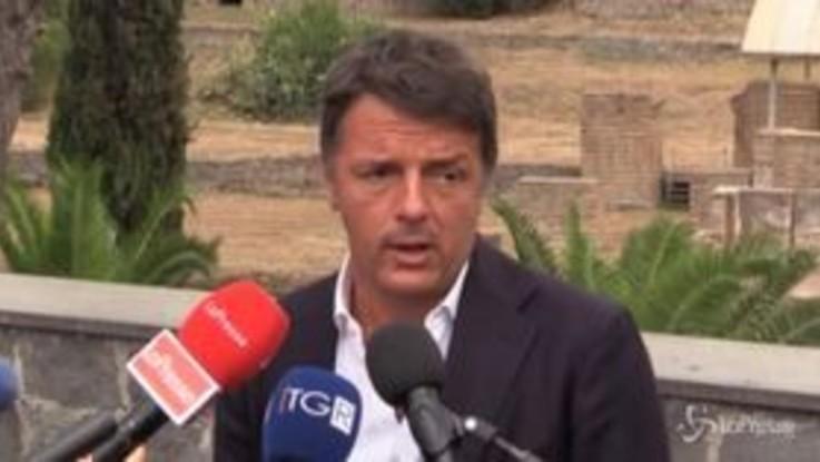 """Puglia, Renzi: """"Emiliano era dalla parte dei No Vax, come faccio a sostenerlo?"""""""