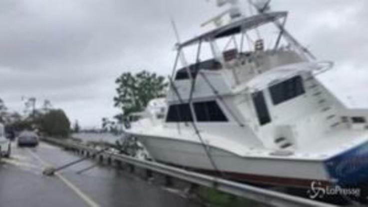 Usa, uragano Sally colpisce la Florida: danni e inondazioni