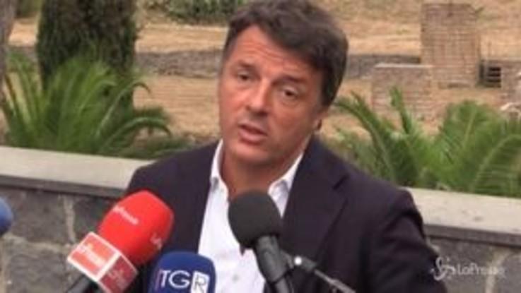 """Mes, Renzi: """"Salvini rifiuta soldi Ue? Alla Lega oltre ai 49 mln ne saranno avanzati molti altri"""""""