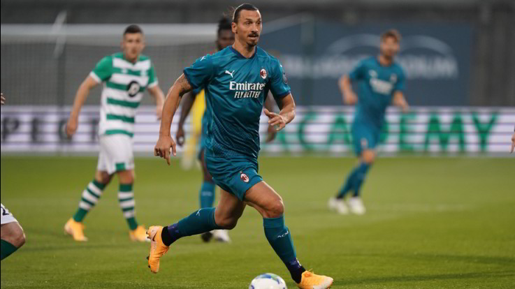 Europa League: Milan batte Shamrock Rovers. Gol di Ibra e Calhanglu