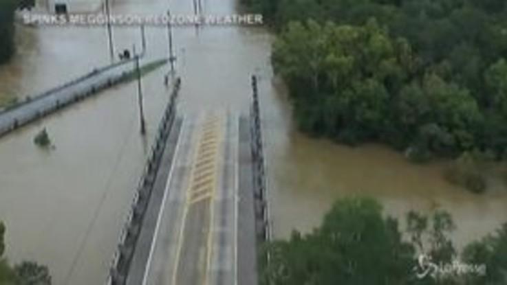 Usa, allagamenti in Alabama dopo il passaggio dell'uragano Sally