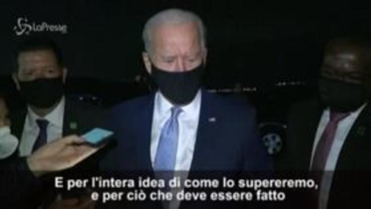 """Usa2020, Biden: """"La gente ha ancora molta paura del Covid"""""""