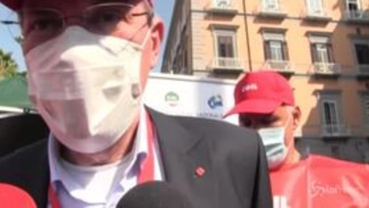 """Referendum, Landini: """"La Cgil non dà indicazioni di voto"""""""