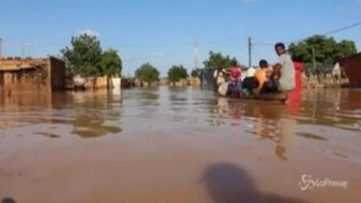 Niger, 9mila rifugiati senza casa per piogge e inondazioni