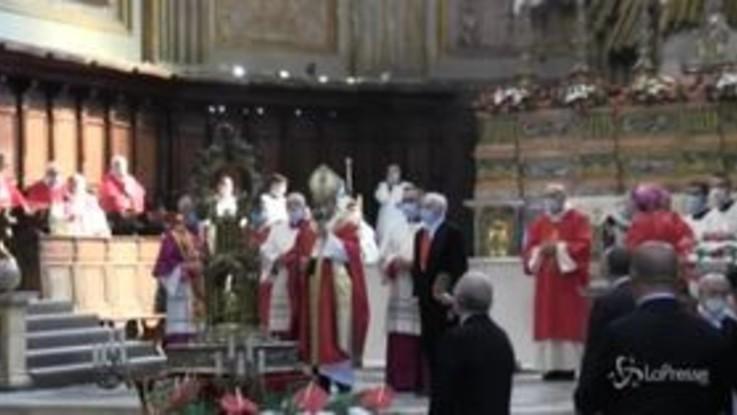 San Gennaro rinnova il miracolo dello scioglimento del sangue: l'annuncio del Cardinale Sepe