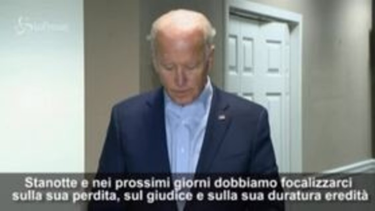 """Usa2020, Biden: """"Il successore di Ginsburg deve essere scelto dal nuovo presidente"""""""