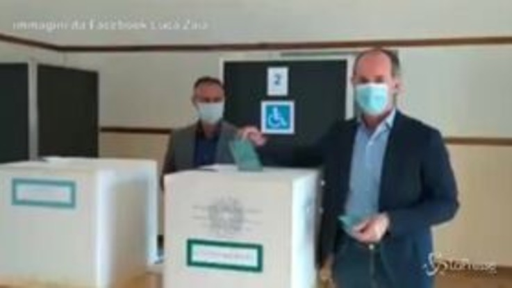 """Election Day, Luca Zaia: """"I seggi sono sanificati, veneti tranquilli al voto"""""""