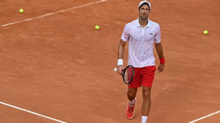 ATP Roma, Djokovic in finale per la decima volta in carriera