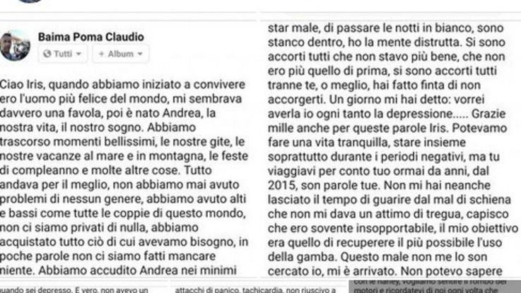 Torino, uccide il figlio e si spara: lo aveva annunciato su Facebook