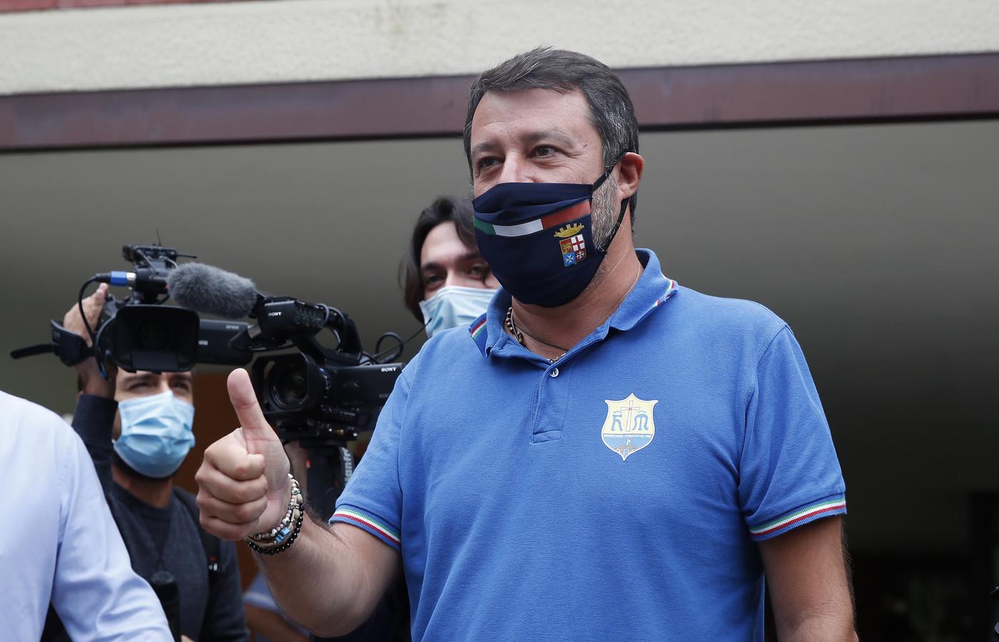 Salvini esulta: Se dati confermati siamo alla guida di 15 regioni su 20