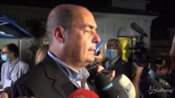 """Regionali, Zingaretti: """"Pd pilastro dell'alternativa alle destre"""""""