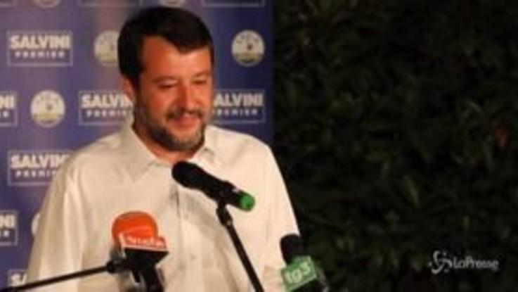 """Elezioni, Salvini: """"Bella battaglia, emozione per il Veneto"""""""