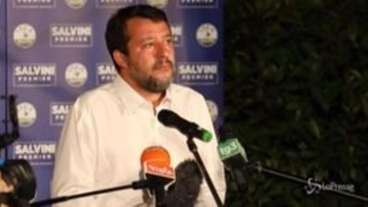 """Elezioni, Salvini: """"Lega primo partito del Paese"""""""