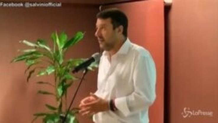 """Lavoro, Salvini: """"Se lo smart working diventa norma, desertifichiamo città"""""""