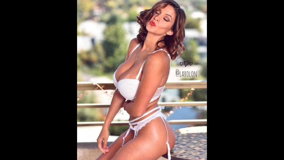 La showgirl argentina Giselle Gomez Rolon (fonte Instagram) ©