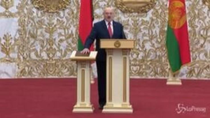 Bielorussia, Lukashenko si insedia con cerimonia non annunciata