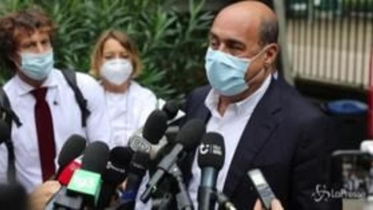 """Zingaretti: """"Con il Recovery Fund si può fare un progetto per l'Italia"""""""