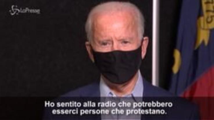 """Usa, proteste Breonna Taylor: Biden, """"no violenza"""""""