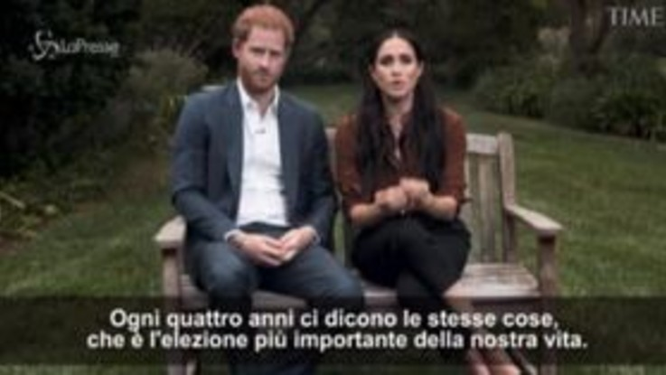 "Usa 2020, Harry e Meghan: ""No all'hate speech, votate per far sentire vostra voce"""