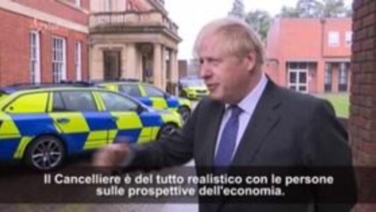 """Uk: Johnson, """"Nostra economia sarà in difficoltà"""""""