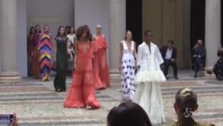 Milano Fashion Week, Laura Barth da Mario Dice: un viaggio nella ribellione degli anni '70