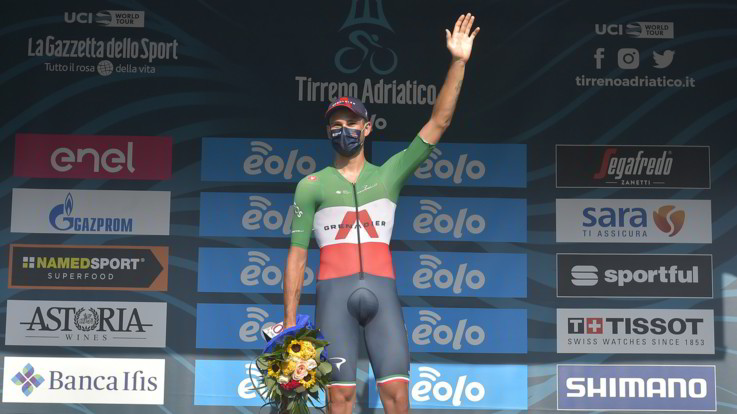 Mondiali, oro a Filippo Ganna nella cronometro maschile