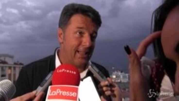 """Regionali, Renzi: """"In Campania noi avanti alla Lega, puntiamo a superare M5s a Napoli"""""""