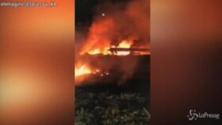 Ucraina, precipita aereo milirare: 26 morti