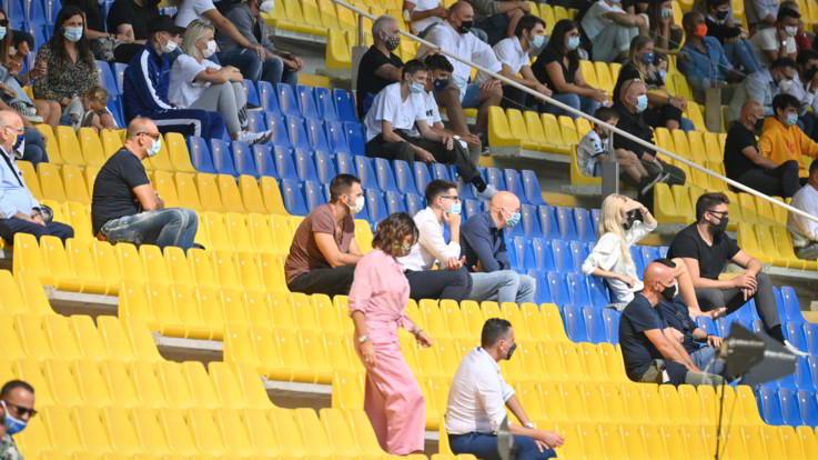 """Il Cts contrario  a ulteriori aperture degli stadi: """"Non ci sono le condizioni"""""""