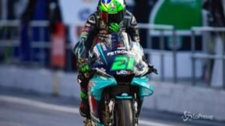 MotoGP, Catalogna: pole position di Franco Morbidelli