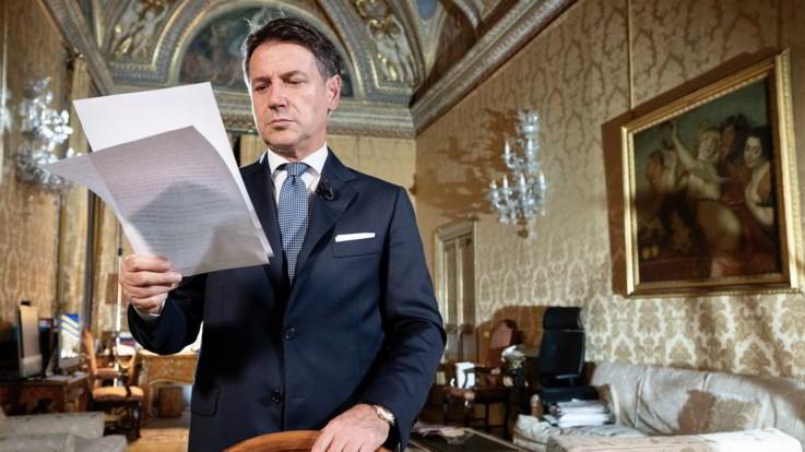 """Conte: """"Escludo lockdown totale, italiani rispetteranno regole"""""""