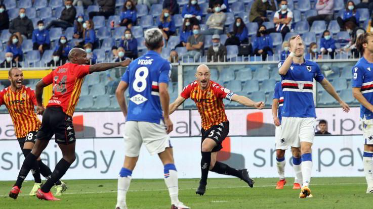 Serie A, Pippo Inzaghi subito corsaro: il Benevento ribalta la Sampdoria