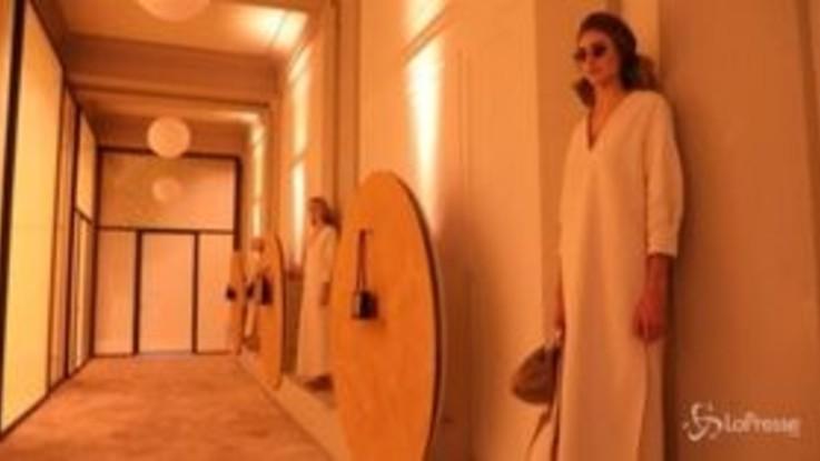 Milano Fashion Week, Laura Barth nell'acquario multisensoriale di Borbonese