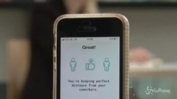 Coronavirus, a Londra la app che aiuta con gli ultrasuoni a mantenere il distanziamento sociale