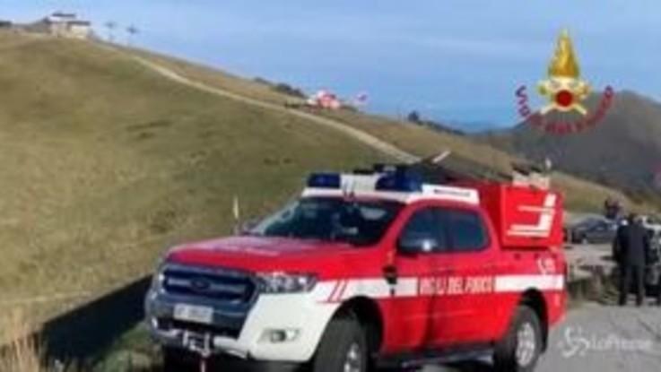 Cuneo, escursionista dispersa: le ricerche dei vigili del fuoco con elicottero e unità cinofile