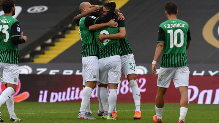 Serie A: Sassuolo travolgente, 4-1 in casa dello Spezia
