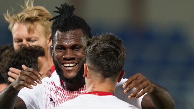 Il Milan passa a Crotone: 2-0 con Kessié e Diaz