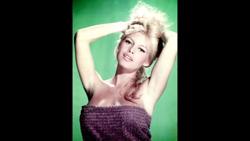 l'attrice Brigitte Bardot negli anni '60 ©
