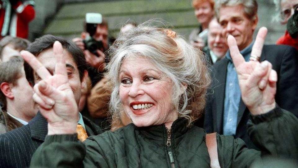 l'attrice Brigitte Bardot negli anni '90 ©