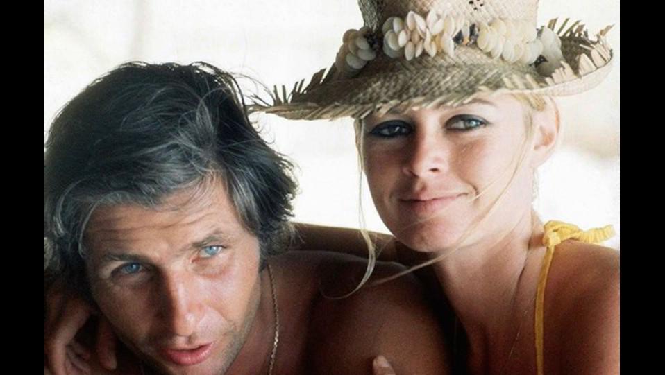Brigitte Bardot con il secondo marito il playboy tedesco Gunther Sach ©