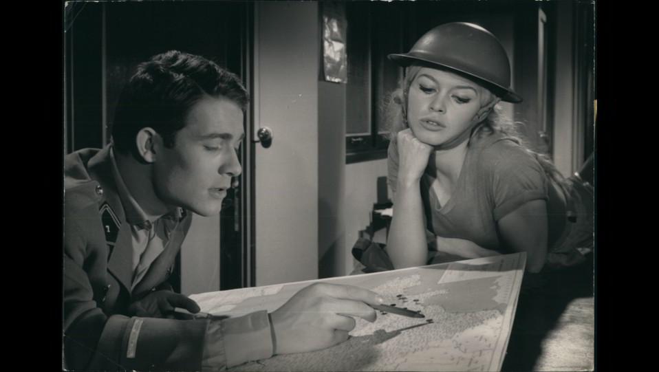 1959 - l'attrice Brigitte Bardot nel film Babette va alla guerra ©