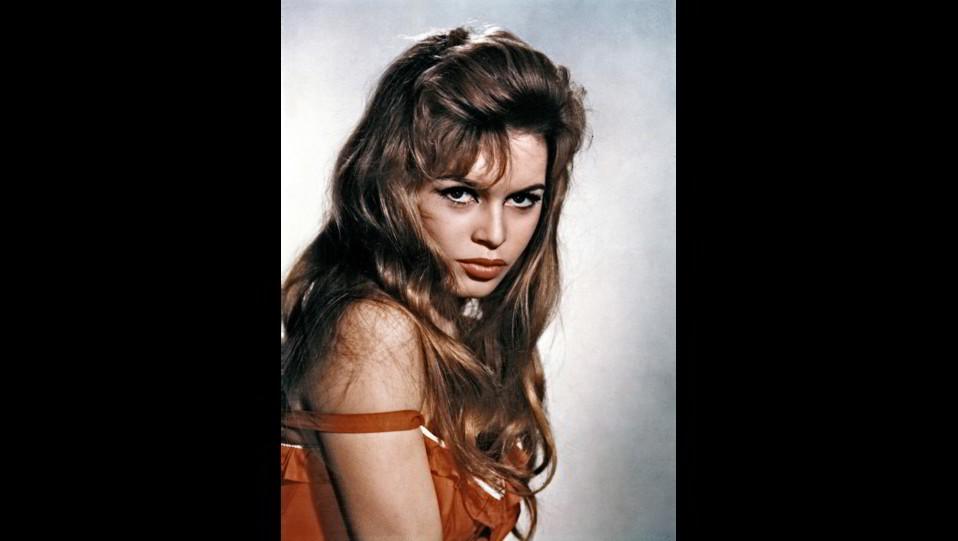 l'attrice Brigitte Bardot negli in un ritratto degli anni '50 ©