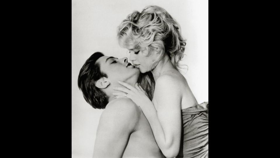 Brigitte Bardot e Alain Delon nel 1961 ©