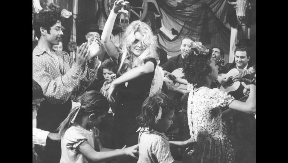 L'attrice Brigitte Bardot nel film Femmina del 1959 ©