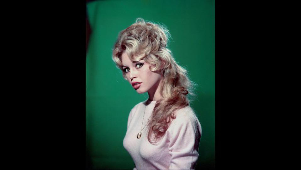 l'attrice Brigitte Bardot in un ritratto degli anni 50 ©