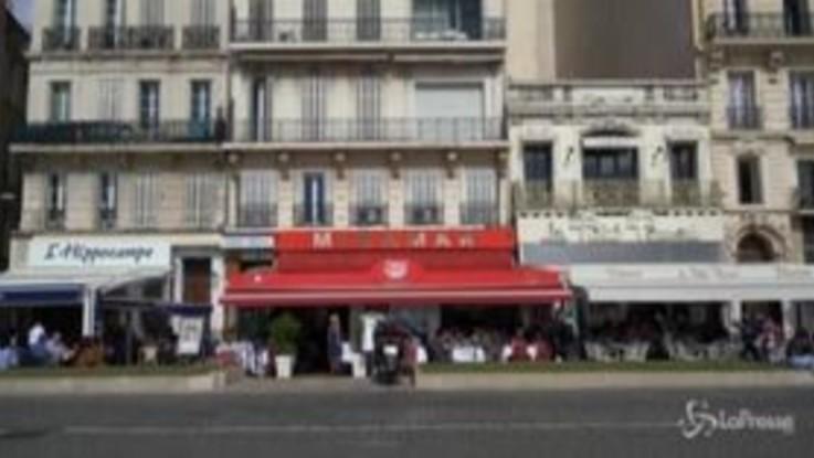 Marsiglia, chiudono bar e ristoranti fino all'11 ottobre