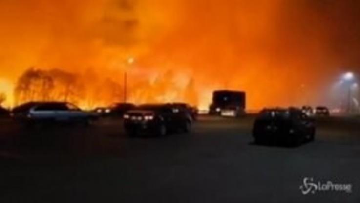 Russia: 150 ettari in fiamme intorno alla città di Voronež